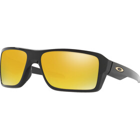 Oakley Double Edge Cykelbriller orange/sort